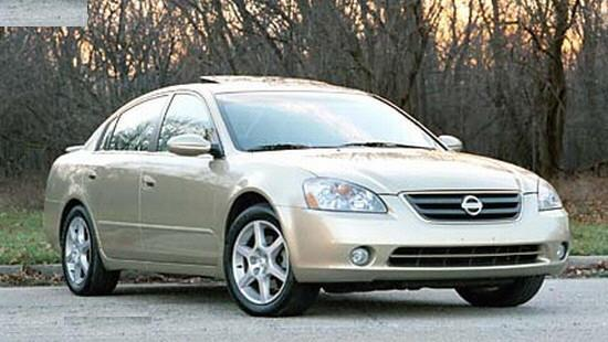 2002 Nissan Altima SE Car Picture